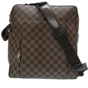 Authentic Louis Vuitton Damier Olaf MM Bag
